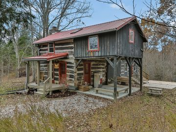 PRIVATE Remodeled Log Cabin In The Woods On Close To Bourbon Trail In KY
