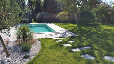 Photo for Chatelaillon: HOUSE T5 WITH SWIMMING POOL (of 7x3,5 M2) and Gantry: GROUND OF 899m2