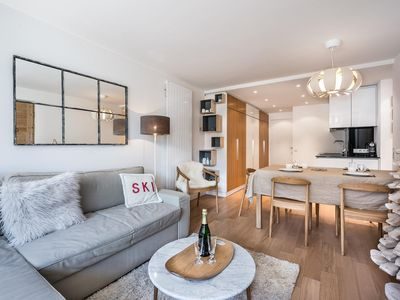 Photo for Saint Charles : Renovated in 2015, 100m from the ski slopes and centre