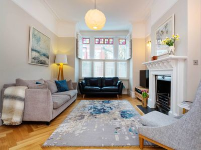 Photo for 4 bed home with terrace and garden in quiet North London neighbourhood (Veeve)