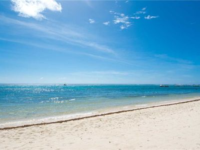 Photo for Caribbean Paradise - Private Villa with Beachfront Deck & Resort Amenities