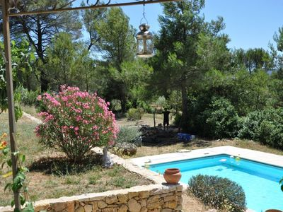 Photo for Spacious villa with pool in Cotignac, the heart of the Var countryside