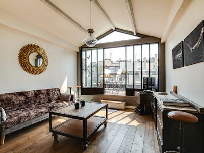 Photo for Luxe Duplex with Terrace near Palais-Royal