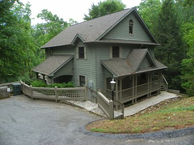 Photo for Resort lakefront home with 6BR/3.5BA with resort amenities