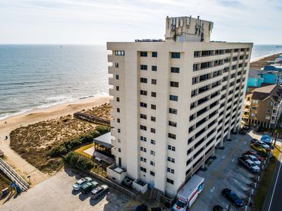 Photo for Pelican Watch 907: 3BR, 2BA, Sleeps 8 - oceanfront condo complex with pool!