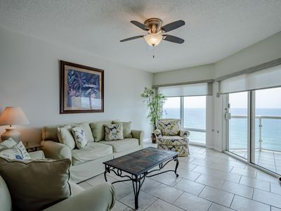 Photo for Gulf Front Condo with Stunning Views~ Steps to the Beach~ Great Resort Amenities!