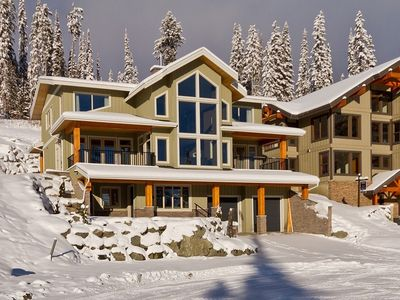 Photo for Fabulous vacation home with amazing view of Mt. Morrisey, close to ski runs