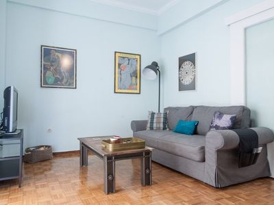 Photo for Fully Renovated 1 Bedroom Apartment Next to Acropolis