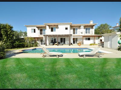 Photo for House located 10 minutes walk from the beach with pool & Garden, Sea View