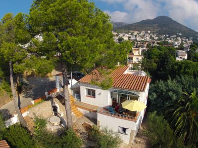 Photo for Individual 3 Bedroom Villa with Great Sea & Mountain Views & separate Studio!