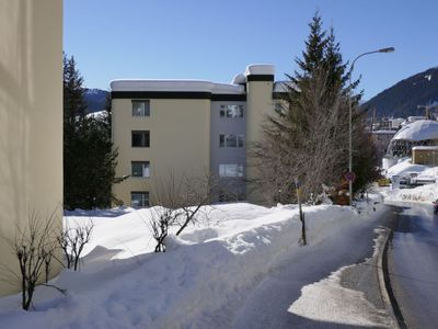 Photo for Apartment in the center of Davos with Lift, Parking, Washing machine, Balcony (53927)