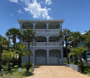 Photo for Luxurious Beach House with a Panoramic Balcony and Just Steps from the Beach!