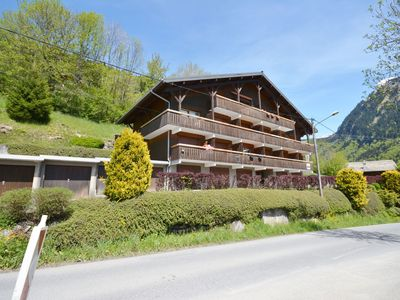 Photo for Renovated apartment for 5 people, with balcony facing west, in Morzine