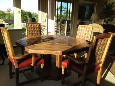 Dinning Room Table (Seats 8)