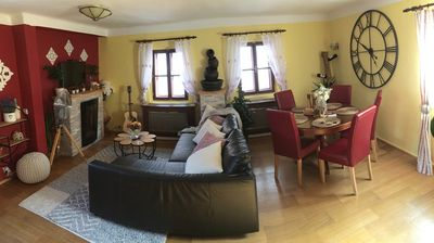 Photo for Incredible 2Br/2Ba Loft in Heart of Prague w/ Balcony & Amazing Views