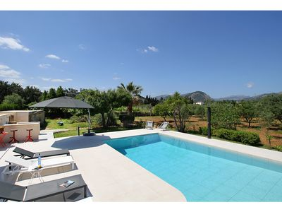 Photo for Can Deo is a secluded three bedroom holiday villa with private pool near Pollensa, Mallorca