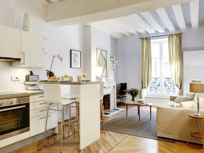 Photo for Spectacular Amazing Apartment at the Heart of the Marais, 2 Bedrooms, 3rd Arr., Sleeps 6, REFPAR1030