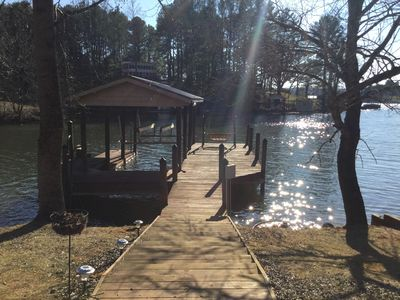 Photo for Location! Location! Location!   Quiet cove yet close to all lake activities!
