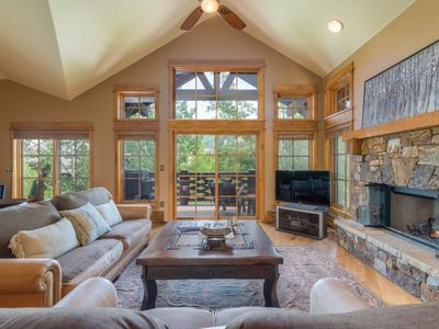 Photo for NEW! Beautiful home, foosball, community hot tub: Rolling Timbers at Settler's Lodge
