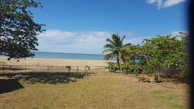 Photo for 2 Bedroom plus den/1 bath Apartment on the beach