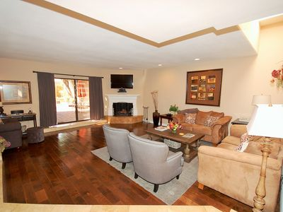 Photo for Summer Rates / McCormick Ranch Santa Fe - Private Courtyard - Fire Pit & Hot Tub