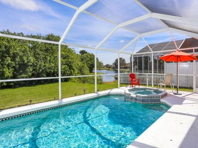 Photo for Modern 3 bedroom pool villa with lake view and spa