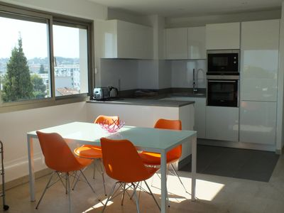 Photo for T3 apartment with pool and garage Cannes sea view and Esterel
