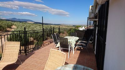 Roof Terrace With Views Over The Olive Groves