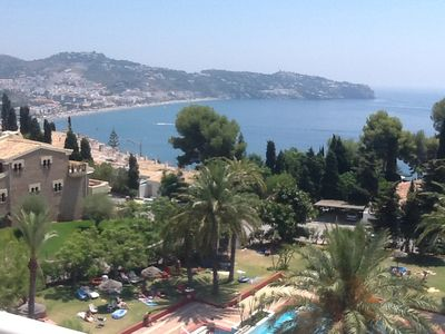 Photo for Apartment with Exclusive Pool, excellent views of La Herradura Bay.