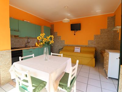 Photo for Calipso holiday home in Torre Dell'Orso with swimming pool