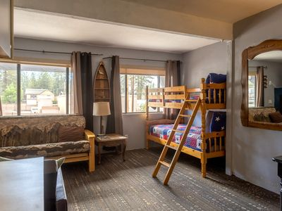 Photo for Village Suites Inn - Kodiak Bear - Perfect Location, IN THE VILLAGE! Can't be better!!!