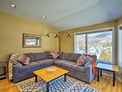 Photo for NEW! Lincoln Condo w/ Views - 2 Mi. to Loon Mtn!