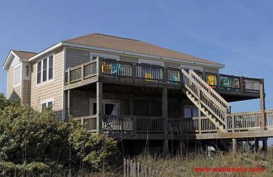 Photo for Baby Girl - Amazing, 5 BR, Oceanfront Home, Incredible Views, Game Room, Elevator