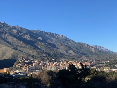 Photo for T2 apartment rental, 45m2 in Corte: quiet residence, overlooking the citadel!