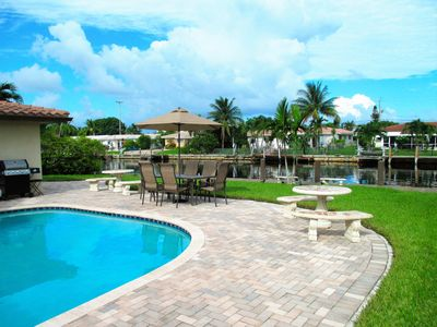 Photo for SPECTACULAR WATERFRONT HOME -Great for families, private pool.