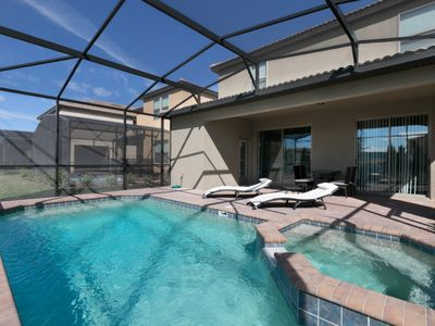 Photo for Luxury on a budget - Solterra Resort - Welcome To Cozy 5 Beds 5.5 Baths Villa - 7 Miles To Disney