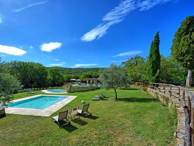 Photo for Nice apartment for 3 guests with pool, WIFI, TV and parking
