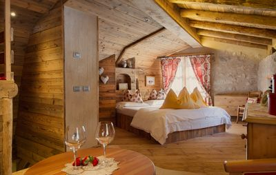 Photo for Dream Tale: Romantic chalet in the Dolomites and Lake Molveno