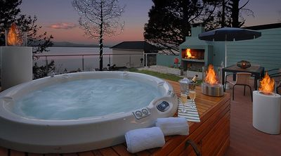 Photo for Private Jacuzzi and Lake views!! TD8