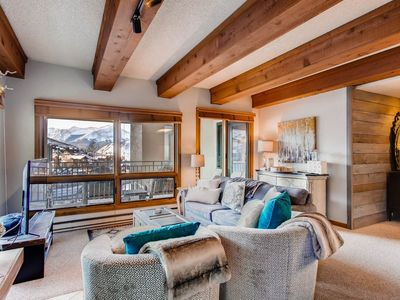 Photo for Only 100 Yards from the Slopes! Cozy + Elegant Retreat