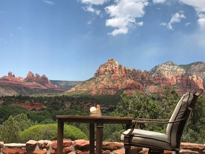 Photo for Sedona Million Dollar Views from a Rustic Cabin!