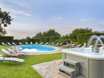 Photo for Villa La Ventana with Private Swimming Pool, Garden, Jacuzzi, Sea view and Parking