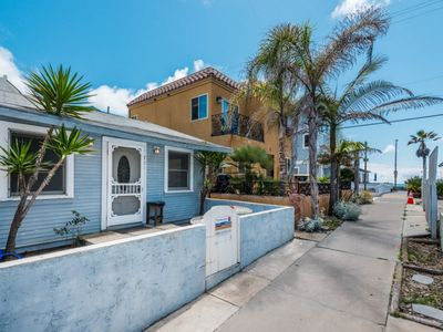 Photo for BEACH COTTAGE, 2 Bedroom...steps to OCEAN!!