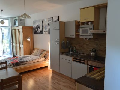 Photo for Traveller apartment in 21. Floridsdorf with WiFi & shared garden.