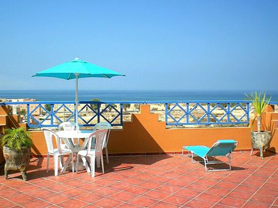 Photo for Charming Apartment with Sea View Pools