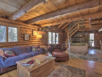 Photo for NEW! Cabin w/ Private Hot Tub: Walk to Pats Peak!