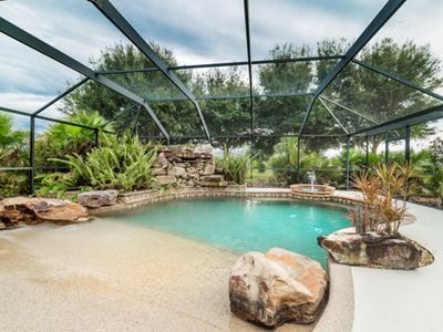Photo for South Facing Private Pool, Beautiful Home, Near Beaches and Boating Areas!