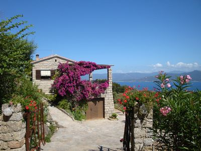 Photo for House 6 People with panoramic sea and mountain, quiet
