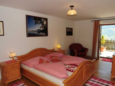 """Photo for Apartment Schafberg - Apartments Farm """"Margarethengut"""" am Attersee"""