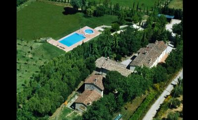 Photo for Pendolino Le Gorghe Valmarino Residence in Umbria 5km from Perugia Swimming pool and WIFI